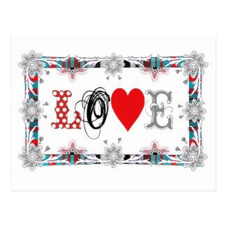 Love to Love Cartoes Postais
