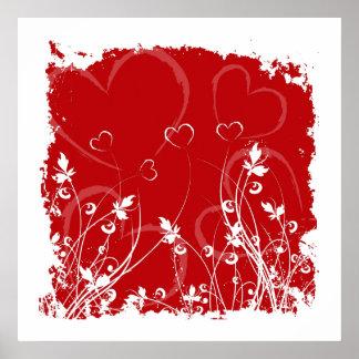 Love Valentine Posters