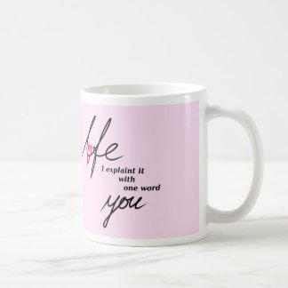 Love = You Caneca De Café