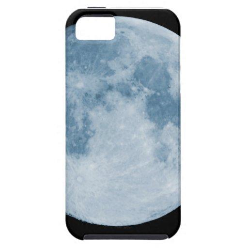 Lua azul capas de iPhone 5 Case-Mate