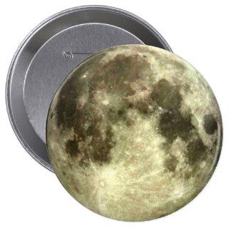 Lua cheia bóton redondo 10.16cm