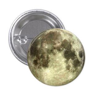 Lua cheia bóton redondo 2.54cm
