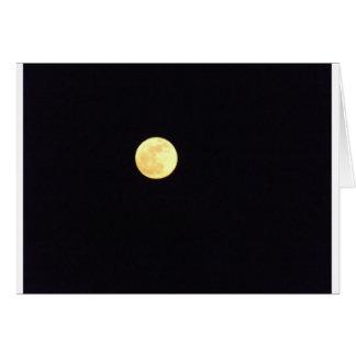 Lua cheia cartão