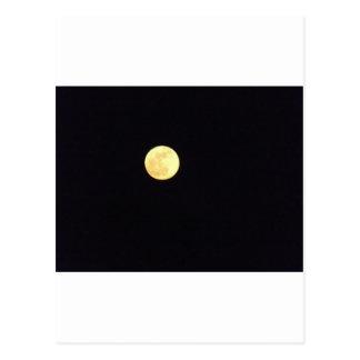 Lua cheia cartão postal