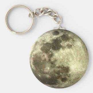 Lua cheia chaveiro