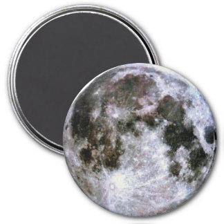 Lua cheia ímã redondo 7.62cm