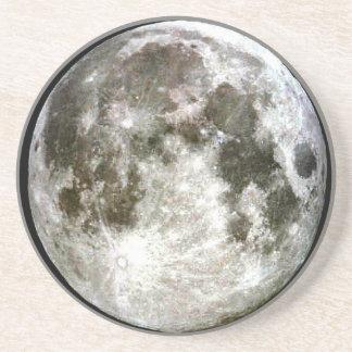 Lua cheia porta-copos