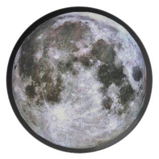 Lua cheia prato de festa