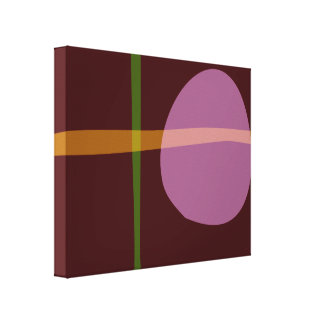 Lua do chocolate impressão em canvas