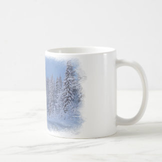 Lua do inverno caneca de café