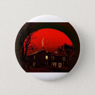 lua vermelha bóton redondo 5.08cm