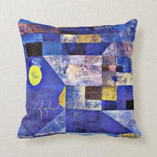 Luar de Klee-, pintura de Paul Klee Almofada