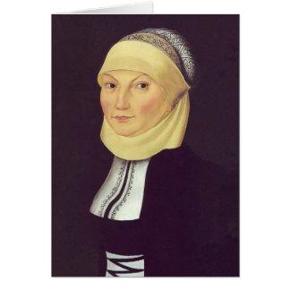 Lucas Cranach o Katharina mais idoso Luther Cartao
