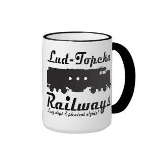 Lud-Topeka estradas de ferro - dias longos & Caneca Com Contorno