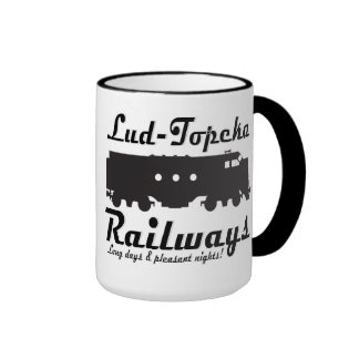 Lud-Topeka estradas de ferro - dias longos & noite Canecas