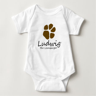 Ludwig o Leonberger explora o Bodysuit da natureza T-shirts