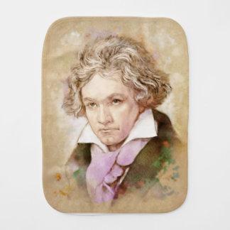 Ludwig Van Beethoven na aguarela estilo Fraldinhas De Ombro