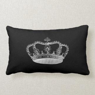 "Lumbar preto 13"" do travesseiro decorativo da almofada lombar"