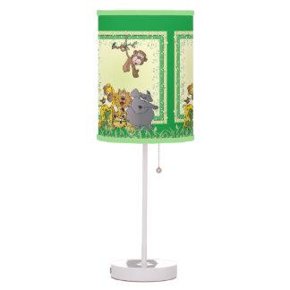 Luminária Animais do bebê da selva do safari
