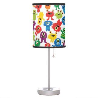 Luminária Candeeiro de mesa colorido louco dos miúdos dos mo