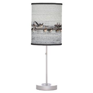 Luminária Candeeiro de mesa dos animais da praia dos animais