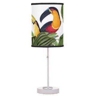 Luminária De Mesa Candeeiro de mesa das folhas dos animais dos