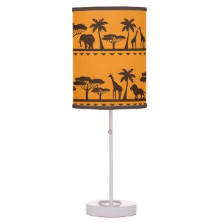 Luminária De Mesa Candeeiro de mesa home animal africano tribal da