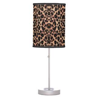 Luminária De Mesa Lâmpada animal do impressão do leopardo morno rico
