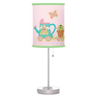 Luminária De Mesa Lâmpada animal do rosa do ponto do bebê do trem do