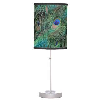 Luminária De Mesa Olhos e penas do pavão