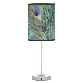 Luminária De Mesa Pontos do olho em um pavão