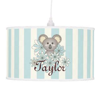 Luminária De Teto Azul animal da sala dos miúdos do berçário | do