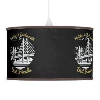 Luminária De Teto Botões dos melhores amigos de Nova Escócia Halifax