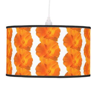 Luminária De Teto Flor da papoila de Califórnia. californica do