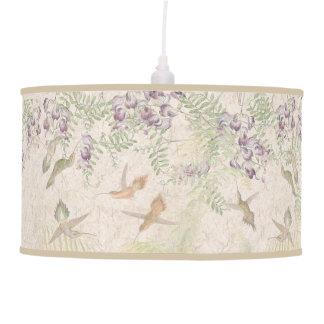 Luminária De Teto Lâmpada dos animais selvagens das flores das