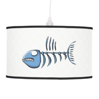Luminária De Teto Ossos de peixes