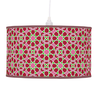 Luminária De Teto Padrões geométricos islâmicos