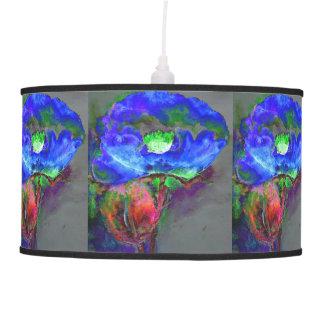 Luminária De Teto Papoila azul