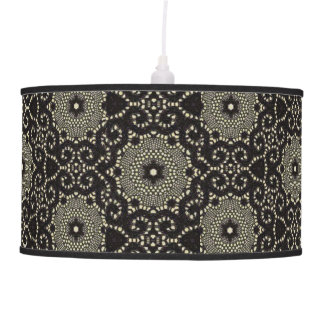 "Luminária De Teto Vintage Blk_Gray 40's__Hanging_Lamp do ""estilo"""