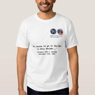 LUNAR - camisa do aniversário de Apollo 11 40th Camiseta