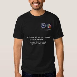 LUNAR - camisa do aniversário de Apollo 11 40th T-shirts