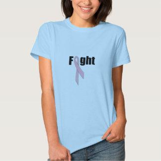 Luta com rosa t-shirts