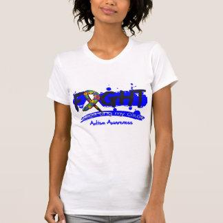 LUTA do autismo que apoia minha causa Camisetas