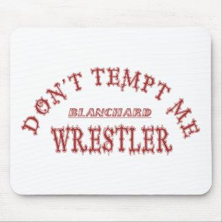 Lutador de Blanchard Mouse Pad