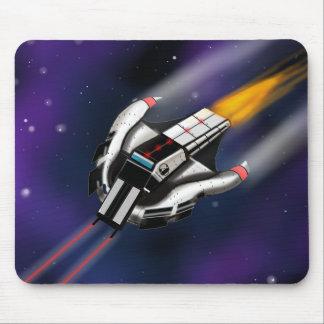 Lutador Mousepad do espaço