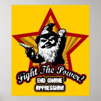 Lute o poster do poder
