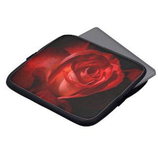"""Luva 10"""" da flor capa de computador notebook"""
