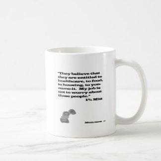 Luva de 1% caneca de café