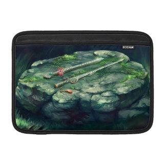 Luva de ar de Macbook da espada e da flauta Bolsas De MacBook Air