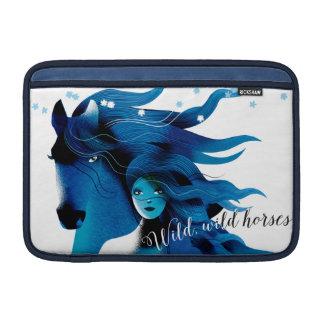 Luva de ar de Macbook dos cavalos selvagens Bolsa De MacBook Air